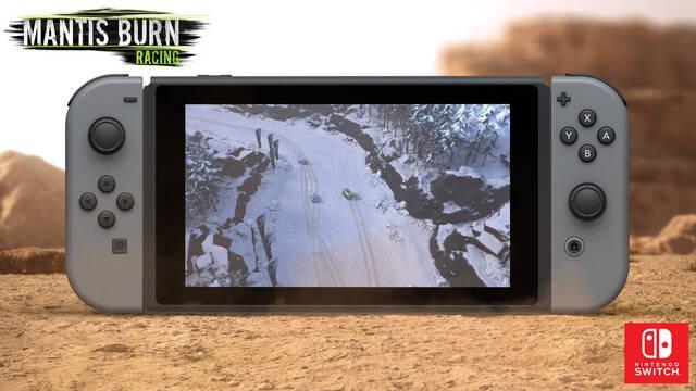 El juego de carreras Mantis Burn Racing llegará a Nintendo Switch