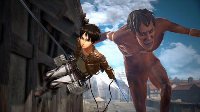 Koei Tecmo confirma que Attack on Titan 2 ya corre en Nintendo Switch