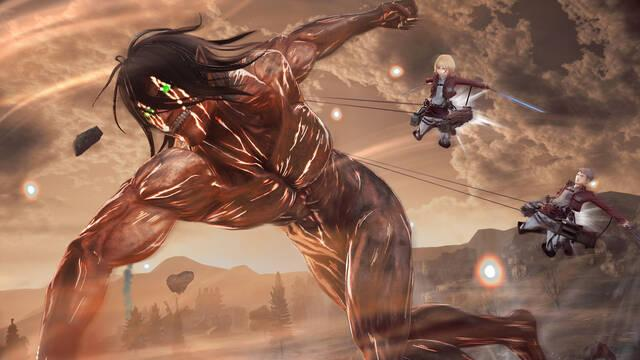 Attack on Titan 2 muestra su acción en un nuevo vídeo de Switch