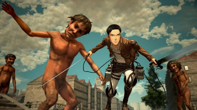 Attack on Titan 2 muestra en vídeo su 'Vida urbana'
