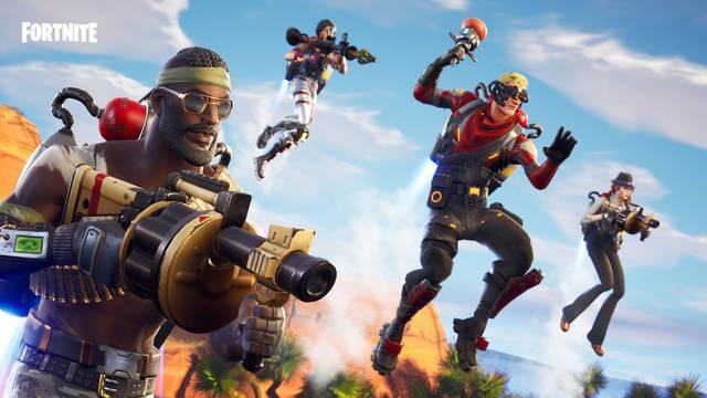 Epic Games adelanta algunos ajustes de Fortnite Battle Royale v7.40