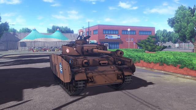 Bandai Namco muestra Girls und Panzer Dream Tank Match para PS4