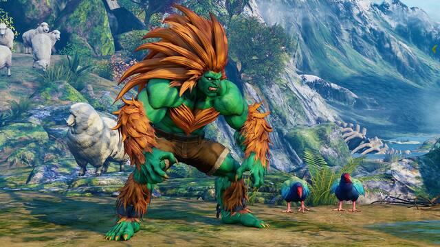 Blanka llegará a Street Fighter V: Arcade Edition el 20 de febrero