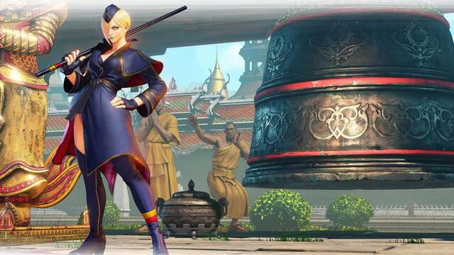 Street Fighter V: Arcade Edition recibirá a Falke el próximo 24 de abril