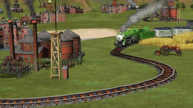 E3: Nuevas imágenes de Sid Meier's Railroads!