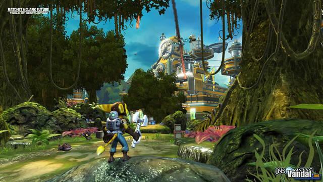 Nuevas imágenes de Ratchet & Clank para PS3