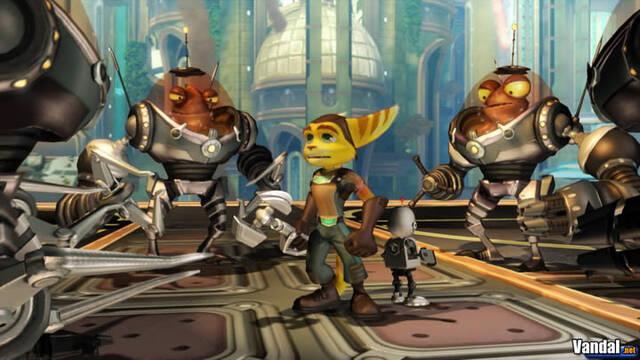 E3: Nuevas imágenes de Ratchet & Clank Future para PS3