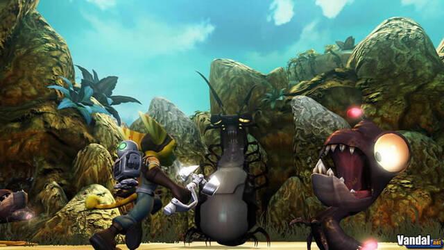 Nueva imagen de Ratchet & Clank Future para PS3