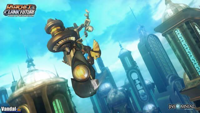 Nuevas imágenes de Ratchet & Clank Future