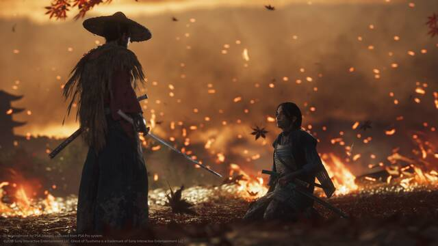 E3 2018: Sucker Punch confirma que Ghost of Tsushima tendrá modo foto