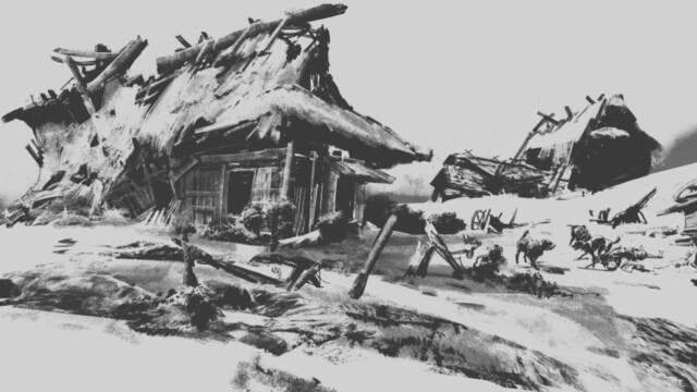 Ghost of Tsushima de Sucker Punch se muestra en una nueva ilustración