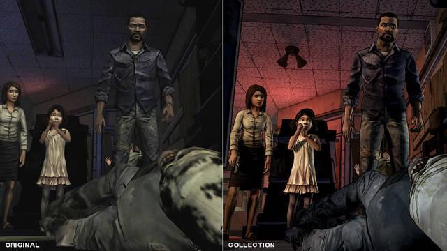 Walking Dead: The Telltale Series Collection muestra sus mejoras gráficas