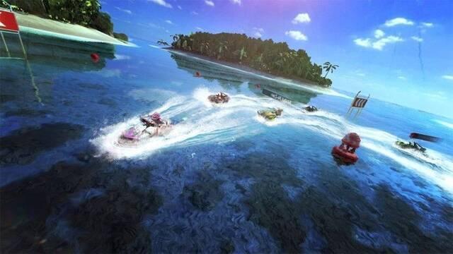 Aqua Moto Racing Utopia para Switch se presenta en vídeo