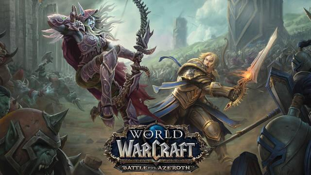 World of Warcraft presenta nueva expansión: Battle of Azeroth
