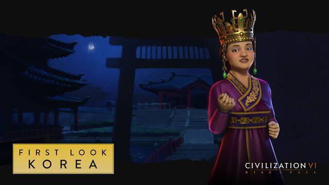 La reina Seondeok dirigirá a Corea en Civilization VI: Rise and Fall
