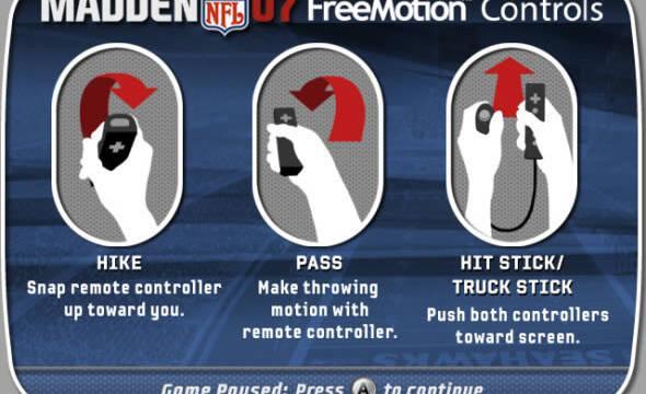 E3: Primeras imágenes de Madden NFL 07 para Wii