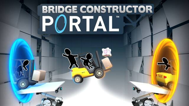 Bridge Constructor Portal ya está disponible en consolas