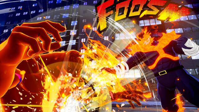 My Hero One's Justice solo tiene voces en japonés