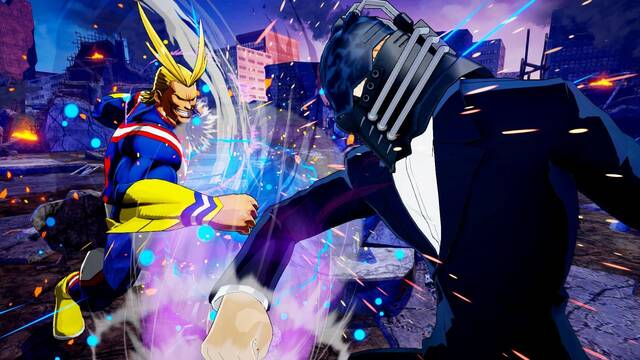 My Hero One's Justice confirma al villano All For One y muestra imágenes