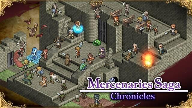 Mercenaries Saga Chronicles llega el 18 de enero a Japón