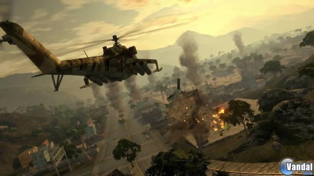 E3: Nuevas imágenes de Mercenarios 2