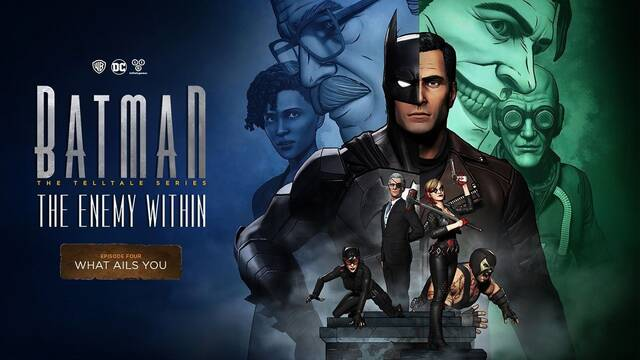 Batman: The Enemy Within estrenará su cuarto episodio el 23 de enero