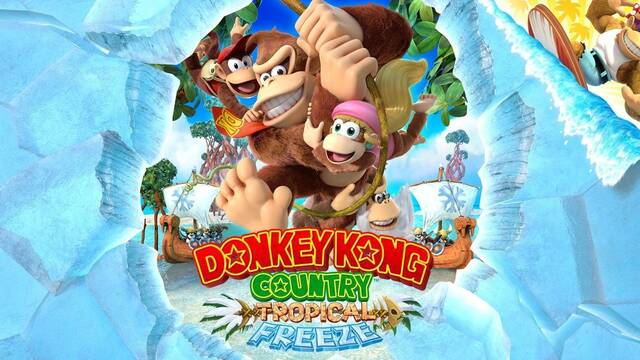 Donkey Kong Country: Tropical Freeze tiene portada reversible