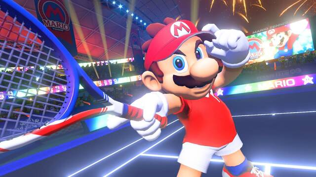 Mario Tennis Aces se alza como el juego más vendido de junio en España
