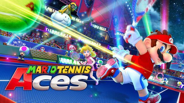 Jugamos en directo a Mario Tennis Aces a partir de las 19:00