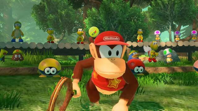 Diddy Kong se suma a Mario Tennis Aces en septiembre