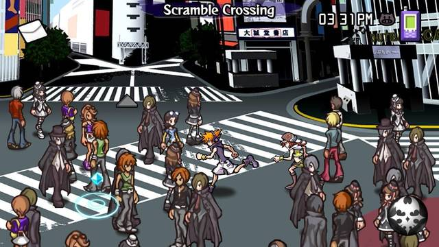 Postgame de The World Ends With You: Final Remix para Switch