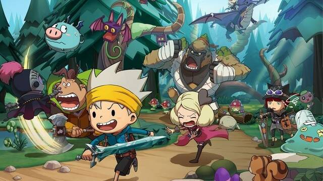 Level-5 detalla todas las novedades de The Snack World: TreJarers Gold