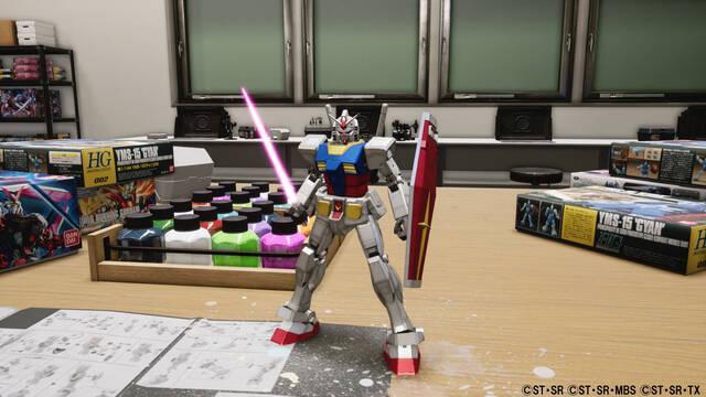 New Gundam Breaker estrena tráiler de lanzamiento