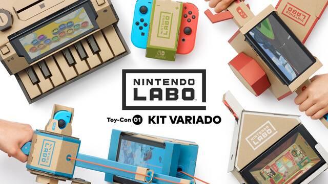 Nintendo Labo se pone a la venta en España en dos kits diferentes