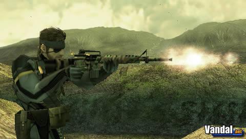 E3: Primeras imágenes de Metal Gear Solid Portable Ops