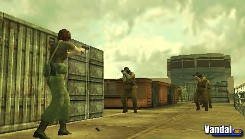 Nuevas imágenes de Metal Gear Solid Portable Ops