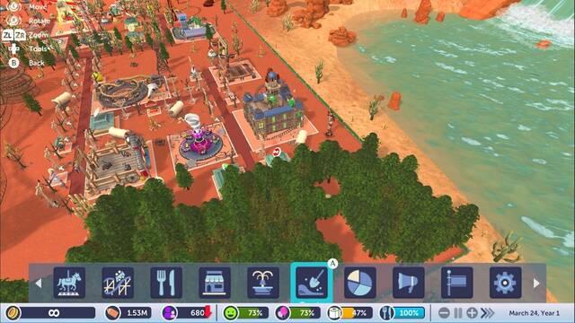 RollerCoaster Tycoon Adventures ocupará 4GB