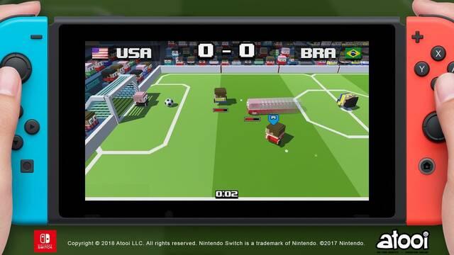 Atooi anuncia Soccer Slammers, fútbol con un toque de NBA Jam