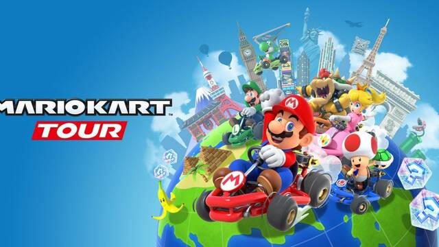 Mario Kart Tour arrancará motores a las 10 de la mañana del 25 de septiembre