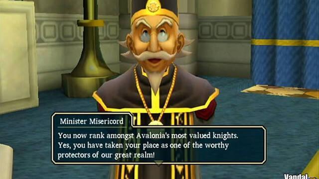 Nuevas imágenes de Dragon Quest Swords