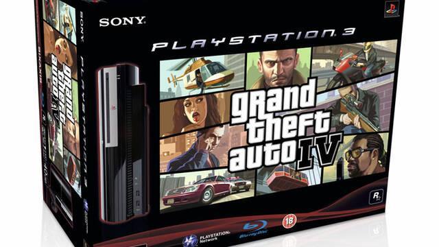 PlayStation 3 se venderá en pack junto a GTA IV