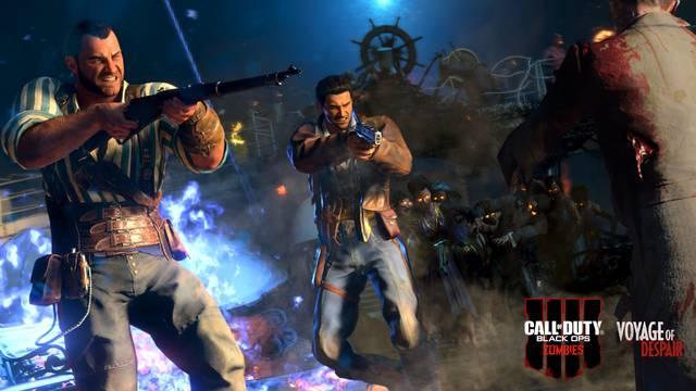 CoD Black Ops 4: Así es la jugabilidad del mapa de Titanic del Modo Zombies