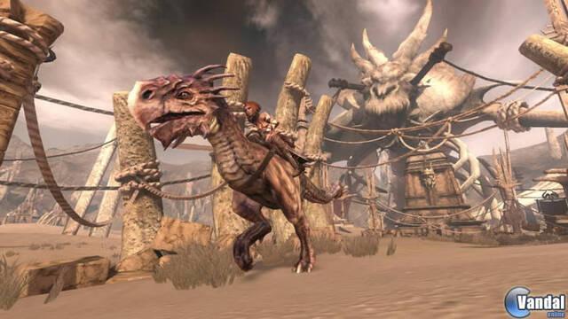 Nuevas imágenes de Golden Axe: Beast Rider