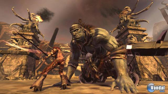 GC: Nuevas imágenes de Golden Axe: Beast Rider