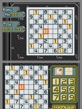 E3: Hudson anuncia Sudoku Gridmaster