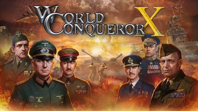La estrategia por turnos de World Conqueror X llega el 8 de marzo a Switch
