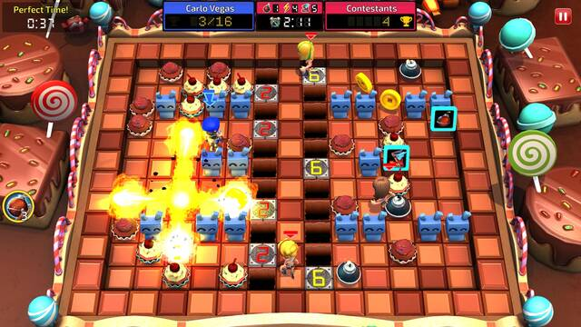 Blast Zone! Tournament disponible gratuitamente en PC