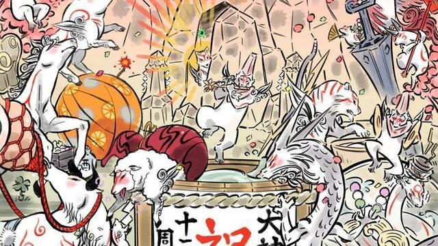 Okami HD para Switch llegará a Europa también el 9 de agosto