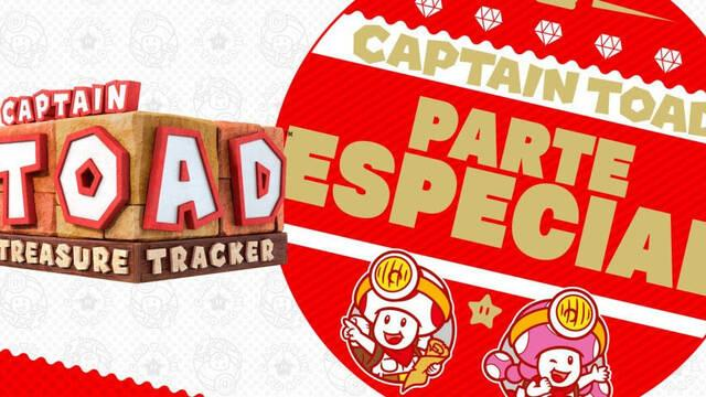 El DLC Captain Toad: Treasure Tracke 'Parte Especial' llega a Switch