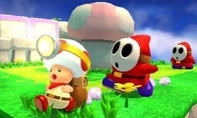 Así es Captain Toad: Treasure Tracker en Nintendo 3DS